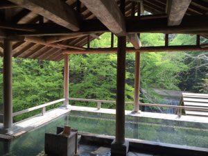 森のこだま 露天風呂