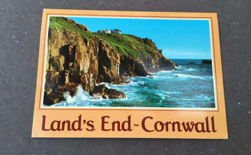 イギリス Land's End 朝、目が覚めたら