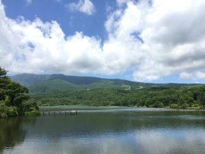 嬬恋村 バラギ湖