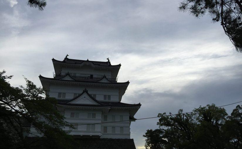 小田原 小田原城と紫陽花と鰻