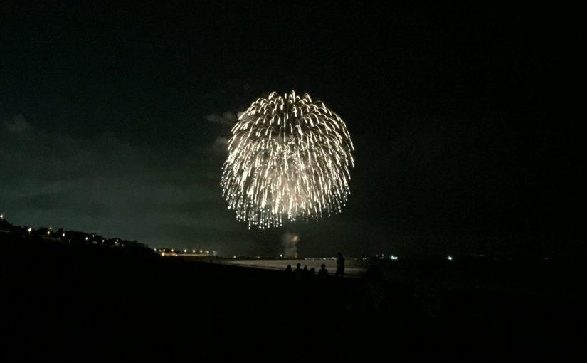 湘南大磯 なぎさの祭典 花火大会