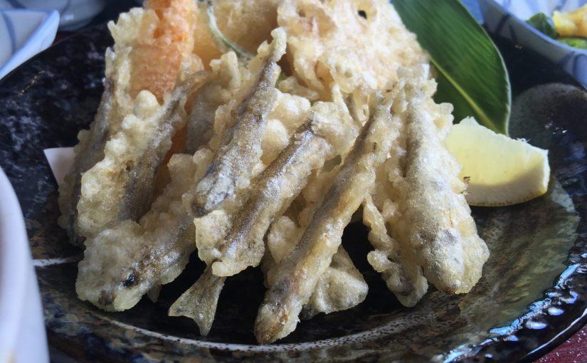 箱根桃源台 網元おおば 芦ノ湖を眺めながら限定ランチわかさぎ天ぷら定食を食べる