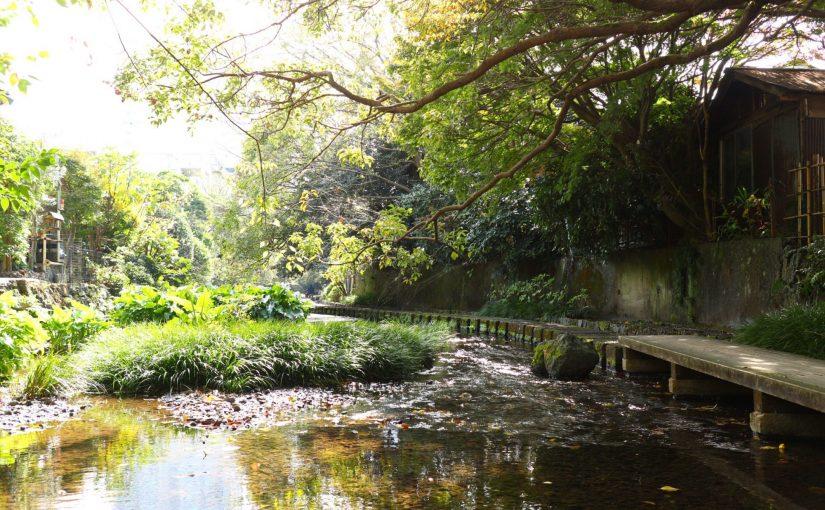 三島-水の都 楽寿園→白滝公園→源兵衛川→柿田川公園