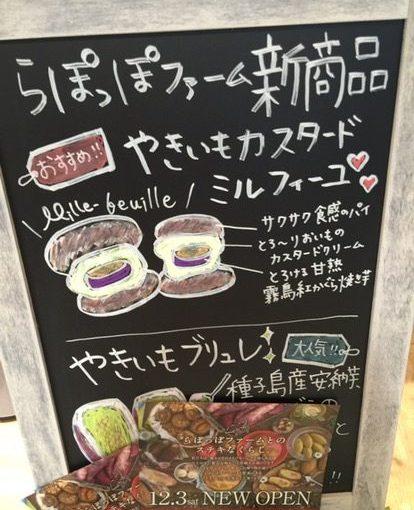 らぽっぽファーム 西武新宿駅店-さつまいもを中心とした畑からの贈り物