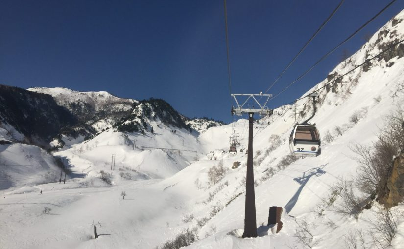 草津温泉 観光 白根火山ロープウェイ-草津国際スキー場雪山空中散歩