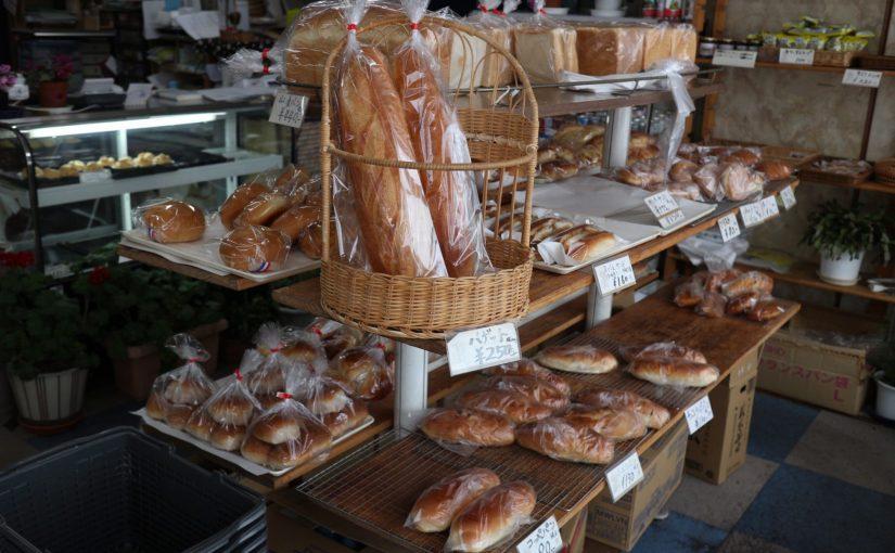 草津温泉 きんか堂のパンとシュークリームを帰りの電車で頬張りました!