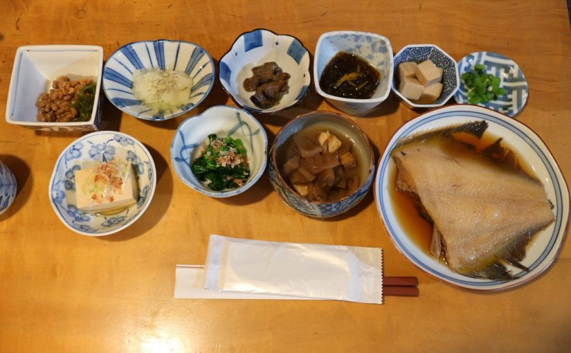草津温泉 篠-大きなお茶わんでごはんお代わりしました!