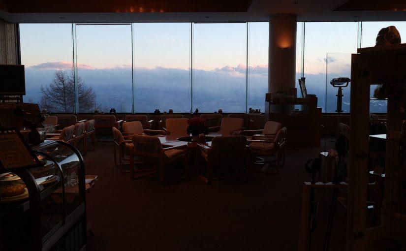 アサマ2000 標高2000mのパノラマビューと温泉こまくさの湯-スキー日記