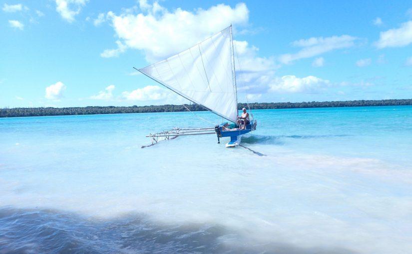 イルデパン 伝統帆かけ船「ピローグツアー」に参加しました1-ニューカレドニア旅行記