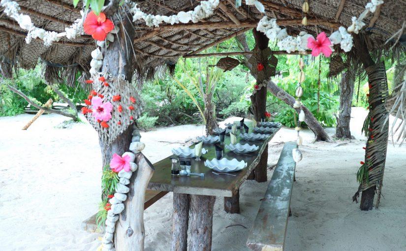ノカンウイ島ツアー-Molo島でバーベキューランチ-ニューカレドニア旅行記