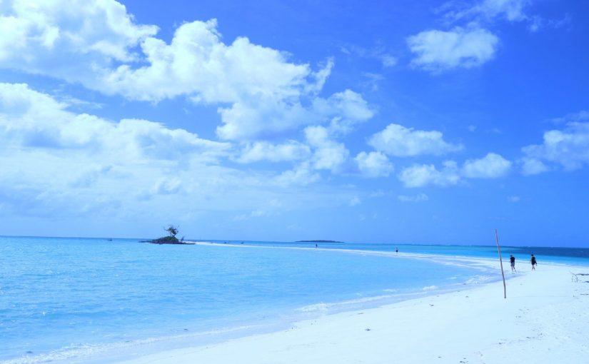 ノカンウイ島-白とブルーの世界-ニューカレドニア旅行記