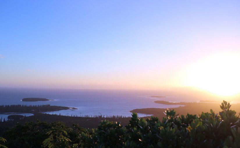 イルデパン島のパノラマビュー -エンガ山(Pic N'ga)でトレッキング-ニューカレドニア旅行記