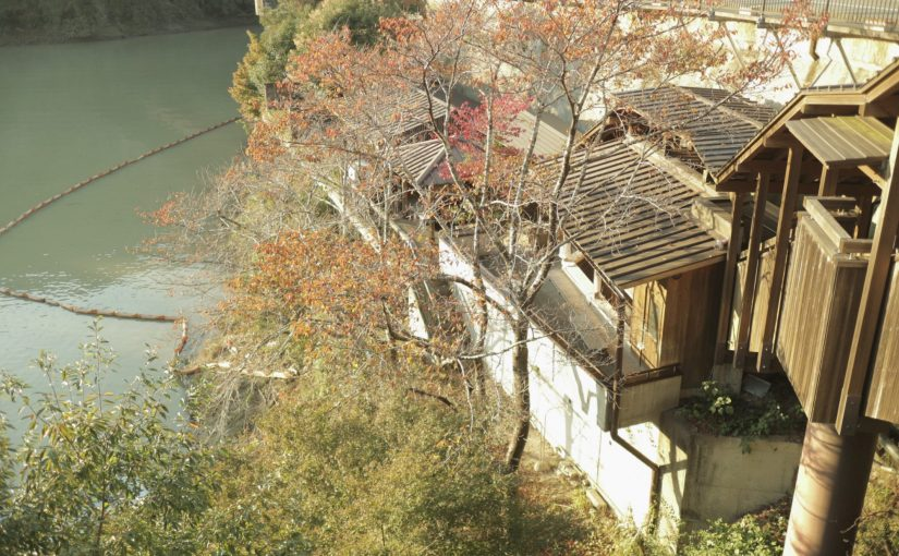 十津川温泉の公衆浴場「庵の湯」-二津野ダム湖畔の温泉-十津川村旅行記