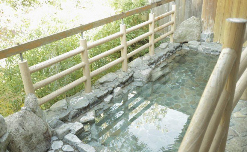 湯泉地温泉「泉湯」-桜の花見ができる露天風呂-十津川村旅行記