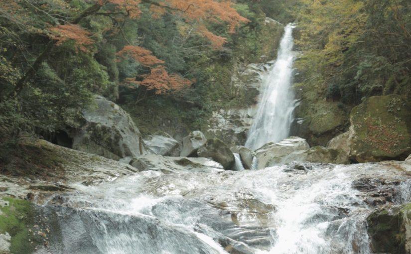 笹の滝を見にハイキング-十津川村観光編