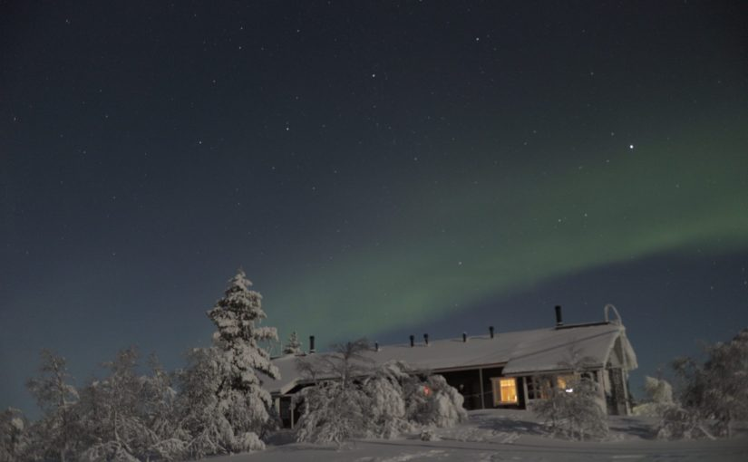 サーリセルカでオーロラハンティング-サーリィ号編-フィンランド旅行記