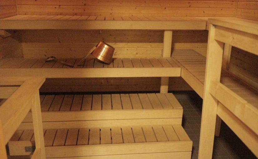 サーリセルカインのフィンランド式サウナ-熱い蒸気が気持ちいい-フィンランド旅行記