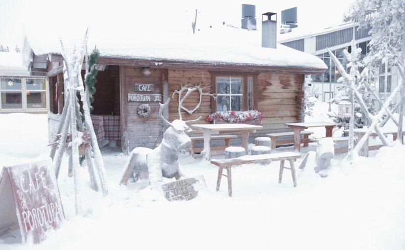 サーリセルカ 「Cafe POROTUPA 」でパンケーキを食べた-フィンランド旅行記