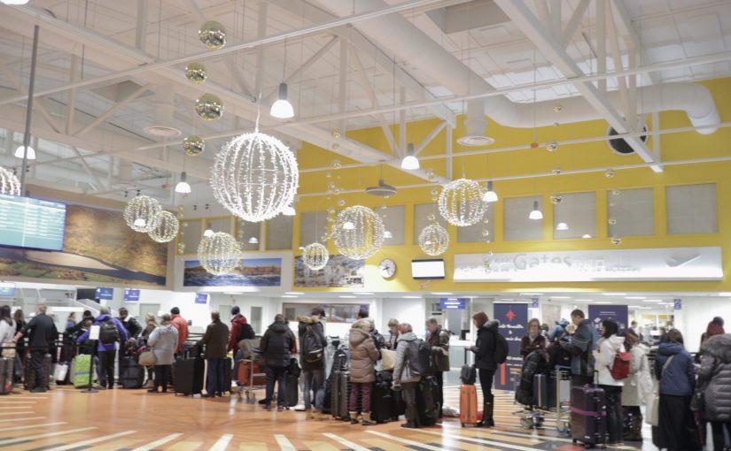 イヴァロ空港(イバロ)でヘルシンキ行きのフィンエアが遅延 サーリセルカ旅行記